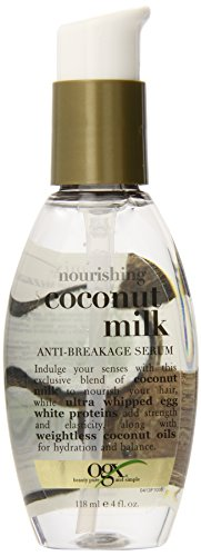 OGX  Anti-Breakage Serum, Nourishing Coconut Milk, 4oz