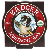 Badger Balm – Mustache Wax – Navigator Class Man Care – .75 oz