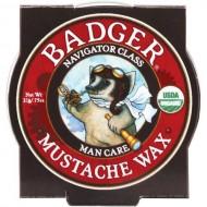 Badger Balm – Mustache Wax – Navigator Class Man Care – .75 oz