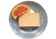 Orange Soap: Vegan and Organic