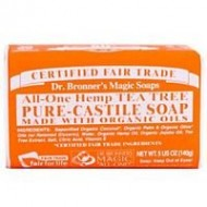 Dr. Bronner's Organic Pure Castile Tea Tree Soap, 5 oz – 2 Bars