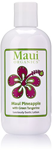 Maui Organics Intense Moisturizing Exoitc Lotion, Maui Pineapple, 8.5 Ounce