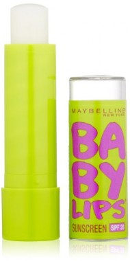 Maybelline New York Baby Lips Moisturizing Lip Balm, Peppermint, 0.15 Ounce