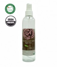 USDA Organic Rose Water – Toner Mist – 8.5 oz.