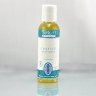 Brigit True Organics- LAVENDER Castile Body Wash, 2.3 fl. oz. (86% ORGANIC)