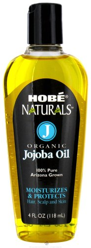 Hobe Naturals Organic Jojoba Oil, 4-Fluid Ounce