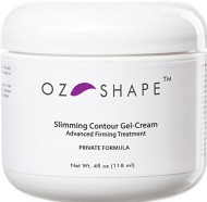 OZ Shape – Cellulite Gel-Cream with Caffeine and Retinol + Indian Ginseng – BEST Organic Skin Firming Treatment ★ Premium Quality ★
