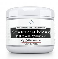 The #1 Professional – Best – Stretch Mark Cream- Acne Scar Removal – Ideal for Prevention Treatment of Old Stretch Marks and Scar Marks – Perfect for Pregnancy Includes Shea Cocoa & Mango butter w/ Organic Oil – 4 oz –