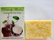 Raw Sugar Exfoliation & Microdermabrasion in Coconut Oil Soap Bar (2 Bars)- The Beauty Secrets of Hollywood Top Stars and Victoria Secret Models Provide Mild Exfoliation (see Positively Flawless' Complete Program of Skin Peel-Exfoliation with All Natural Facial Masks of Papaya Extract and Coconut Oil; Papaya Serum in Coconut Oil Soap; and, Raw Sugar Exfoliator-Scrub also in Coconut Oil Soap.)