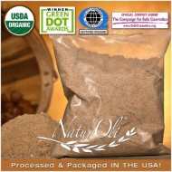 NaturOli USDA Organic Laundry Soap – Soap Nut Powder 16oz. 100% natural detergent, soap & cleanser. – Excellent for hair care / Ayurvedic Aritha