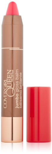 COVERGIRL Queen Collection Jumbo Gloss Balm Electric Flamingo Q820, 0.13 Oz