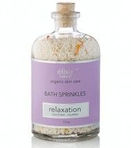 Elixir Naturel Best Organic Bath Bomb Sprinkles – 100% Natural Bath Fizzies Full of Essential Oils and Bath Salts to Detoxify and Soothe your Skin, Great for Moisturizing.