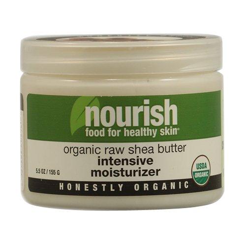 Nourish Organic Raw Shea Butter Intensive Moisturizer, 5.5 Ounce