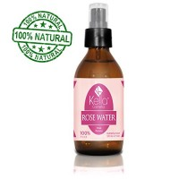 Finest Rose Water Facial Toner By Kella Cosmetics, 4 Fl Oz (120ml). Sumptuous and Triple Purified Organic Rosewater, Made By Hand and Responsibly Sourced, This Is One of Morocco's Best Skin Care Products. A 100% Pure Rose Water, Rich in Vitamin a and C, It Is Full of Natural Antioxidants and Anti-inflammatory Qualities. Perfect for Reviving, Hydrating and Rejuvenating Your Face and Neck. Guaranteed to Work Wonders for Your Skin. Try Our Rose Water, Know the Difference!! Free Shipping!!!