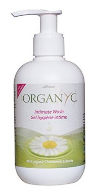 Organyc Certified Organic Natural Intimate Wash with Chamomile, 8.5 Fluid Ounce
