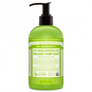 Dr. Bronner's Fair Trade & Organic Shikakai Hand & Body Pump Soap – (Lemongrass Lime, 12 oz)