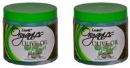 Lusti Organics – Olive Oil Styling Gel – Fast Drying – No Flaking – 16Oz (2 Pack)