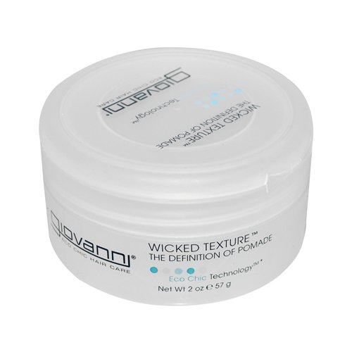 Giovanni Hair Care with Certified Organic Botanicals Wicked Wax Styling Pomade 2 oz. Styling Aids 221088