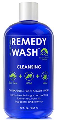 Remedy Antifungal Soap, Helps Wash Away Body Odor, Athlete's