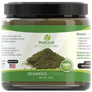 Seaweed Powder – HIGH QUALITY Organic Kelp Powder ★ Perfect Cellulite Treatment ★ FREE Recipes Included – Fresh Norwegian Ascophyllum Nodosum Harvested in USA from the Atlantic Ocean – Kosher Certified – 100% Organic – Perfect For Body Wraps, Scrubs, Facials – Satisfaction Guarantee – 1LB