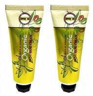 Difeel Organic Olive Hand Cream 1.5 Oz / 42 Ml Combo !!! (2 pack)