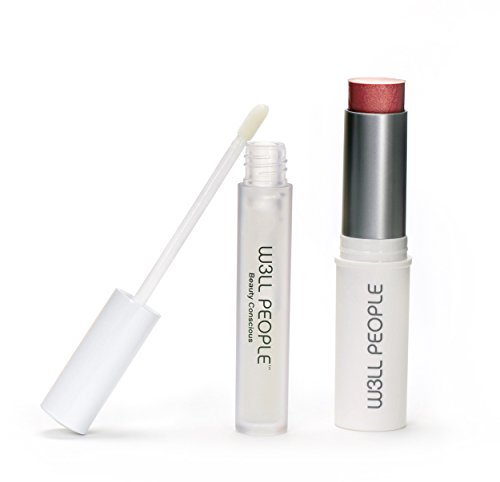 W3LL PEOPLE – All Natural Fall / Winter Natural Color Pop Lip + Cheek Kit (Pink)