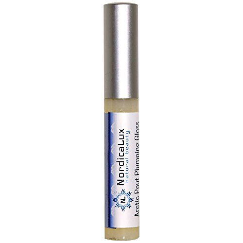 Lip Plumper Gloss   Arctic Clear Gloss   Collagen Infused, Hyaluronic Acid & Peptides, Fuller Lips In Minutes   Plumps Lips Without Irritation, No Sting Formula   Best Lip Plumper That Works