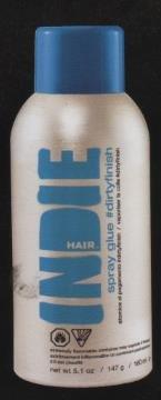 Indie Hair Dirty Finish Spray Glue, 5.1 Ounce