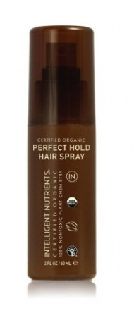 Intelligent Nutrients Certified Organic Perfect Hold Hair Spray, Travel Size, 2 fl oz