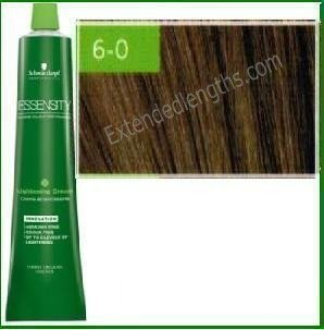 Schwarzkopf Essensity Permanent Hair Color – 6-0 Dark Natural Blonde