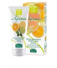 Helan Paraben Free, Petroleum Byproduct Free, Mineral Oil Free, PEG Free and EDTA Free Scented Toning Body Cream with Uplifting Aromatherapy In Agrumee (A Mix of Italian Citrus)