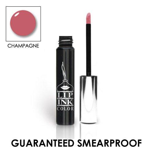 LIP INK Organic Vegan 100% Smearproof Liquid Lip Stain, Champagne