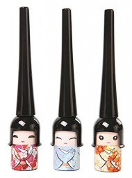 Shot-in Cute Black Waterproof Liquid Eye Liner Pen Makeup Cosmetic