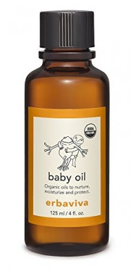 Erbaviva Organic Baby Oil, Clear