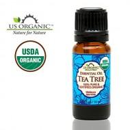 US Organic 100% Pure Tea Tree Essential Oil – USDA Certified Organic – 10 ml