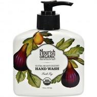 Nourish Organic Hand Wash, Almond Vanilla, 7 Fluid Ounce