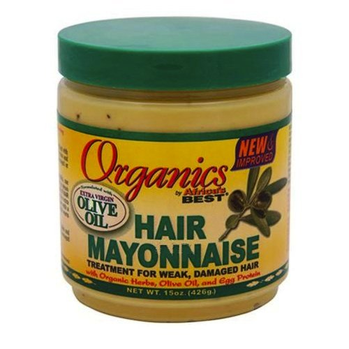Organics Africa's Best Organic Hair Mayonnaise, 18 Ounce (Pack of 2)