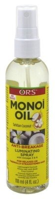 Ors Monoi Oil Anti-Breakage Luminating Spray 4oz (3 Pack)