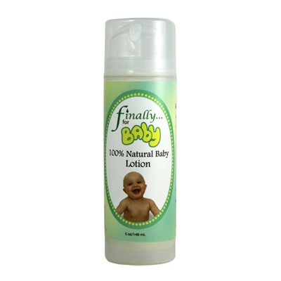 Finally Pure – Daily Moisturizing Baby Lotion, Unscented – 5 oz