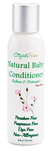 Baby Conditioner – Detangles and Softens Hair with Natural and Organic Ingredients – Relieves Scalp Conditions (Cradle Cap, Dermatitis, Eczema, Dandruff, etc) 4ounce