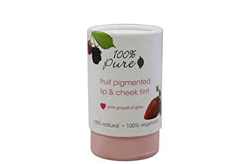 100% Pure Pink Grapefruit Glow Lip & Cheek Tint, .26 oz