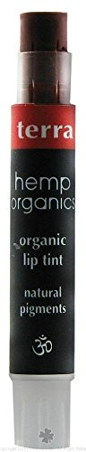 Colorganics – Hemp Organics Organic Lip Tint Terra – 0.09 oz.