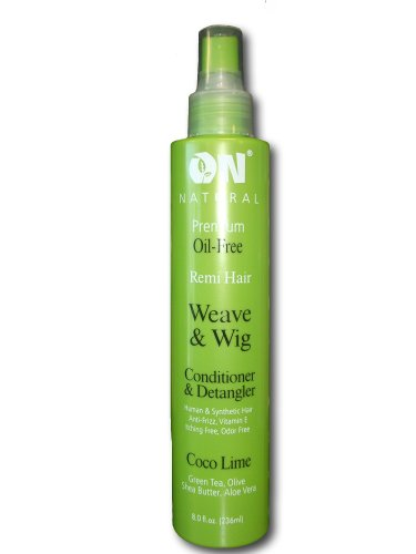 ON Natural Coco-Lime Conditioner & Detangler, 8oz (Coco-Lime)