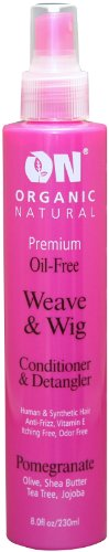 ON Organic Natural Premium Oil-Free Weave & Wig Spray Pomegranate 2 fl oz
