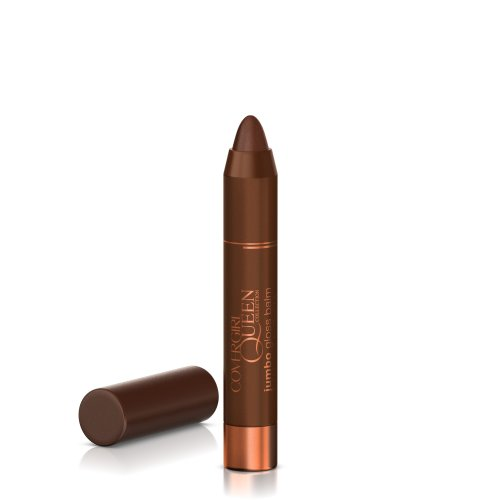 COVERGIRL Queen Collection Jumbo Gloss Balm Brown Sugar Q863 0.13 Oz, 0.130-Fluid Ounce