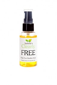 Clearly FREE – Flake Free Healthy Scalp. Natural Oils with Jojoba and Essential Oils: Manuka, Cedarwood, Chamomile Sage Clary. For Dandruff Free, Anti-Dandruff, Stimulates Cell Renewal & Healthy Scalp 2 Oz