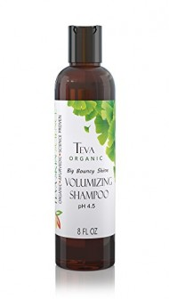 Volumizing Shampoo All Natural Organic Ayruvedic Volume Control 100% Organic Sustainably Wild Crafted African Black Soap Oils of Coconut Cruelty Free Chemical Free Sulfate Free Shine Healthy Vegan Concentrated Detergent Free Teva Skin Science