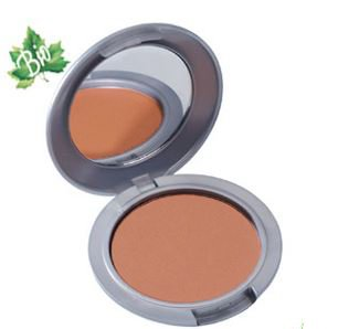 Helan I Colori Organic, Paraben Free, Nickel Tested, Preservative Free Bronzing Powder for Contour and a Natural Looking Tan (Cool Tones in Noce (Italian for Walnut))