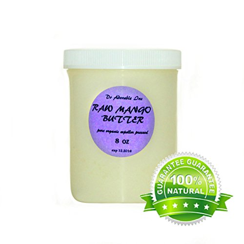RAW Mango Butter Organic 100% Pure 8 Oz