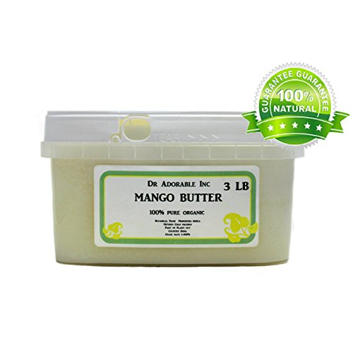 RAW Mango Butter Organic 100% Pure 48 Oz / 3 lb